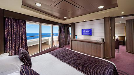 MSC YACHT CLUB SUITE EXECUTIVE Y FAMILIAR