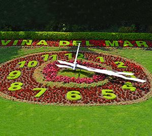 Viña del Mar - Flower Clock