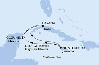crucero cuba jamaica