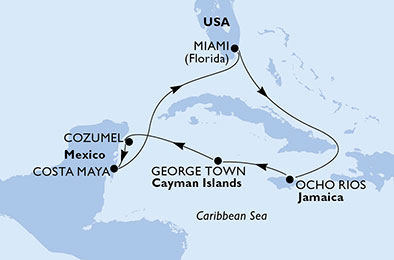 United States,Jamaica,Cayman Islands,Mexico